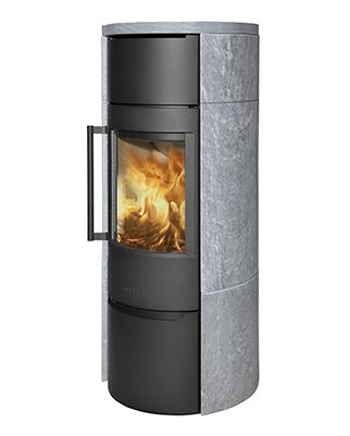 Отопительная печь WIKING Luma 6 в облицовке из талькохлорита
